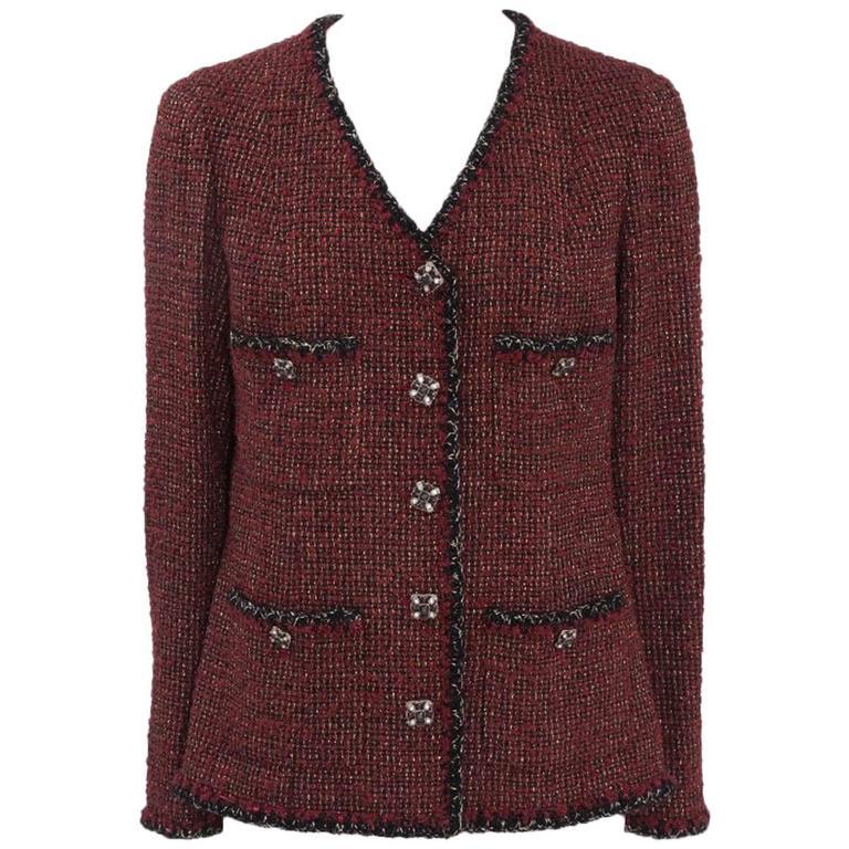 Chanel Runway Tweed Jacket, Fall-Winter 2011-2012  1