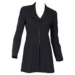 Navy Vintage Chanel Jacket