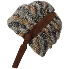 60s Christian Dior Knit Helmet