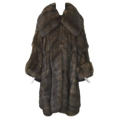 Fendi Sable Swing Coat