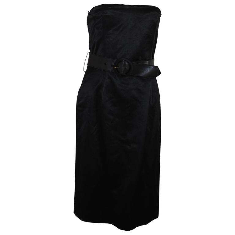 Alexander McQueen Black Dress NWOT