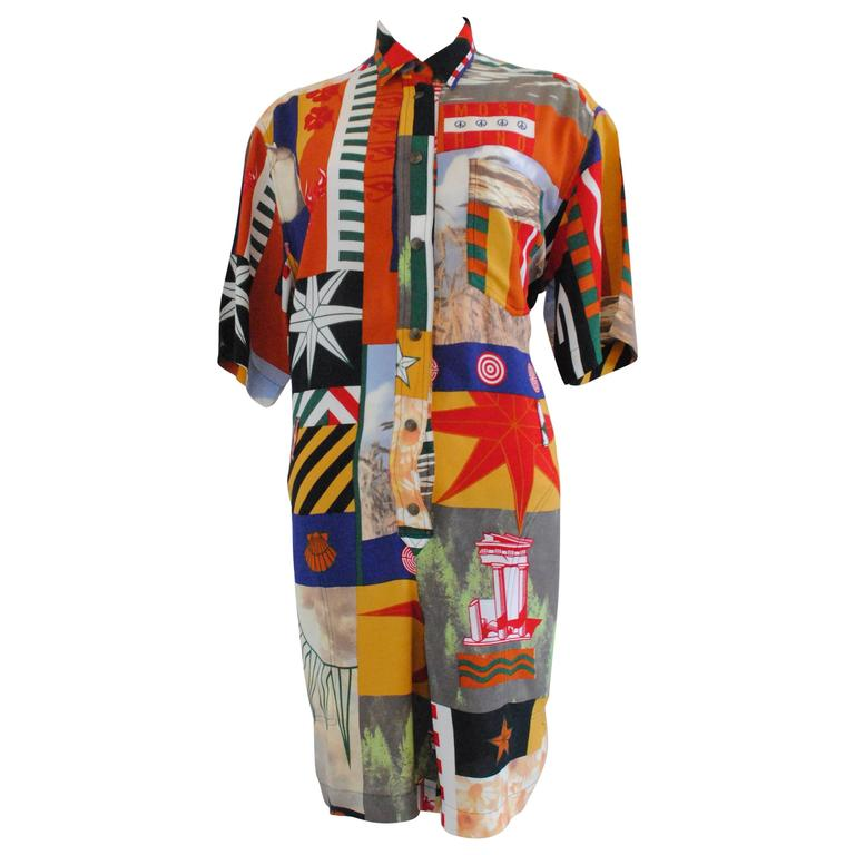 Moschino peace long JUMPSUIT For Sale
