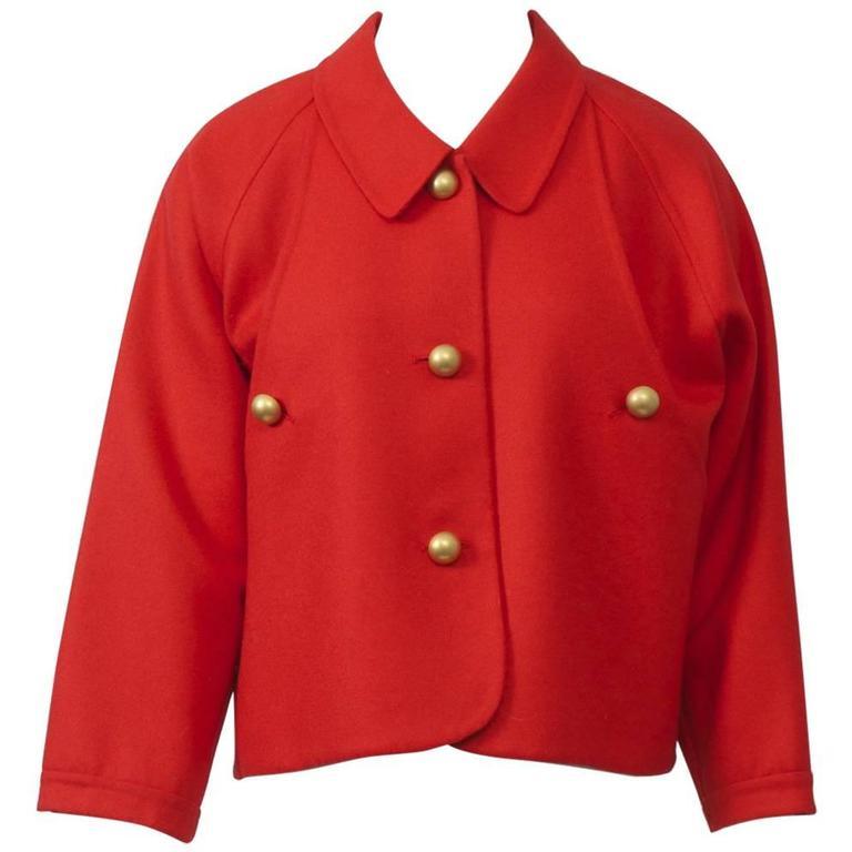 Geoffrey Beene Wool Jacket