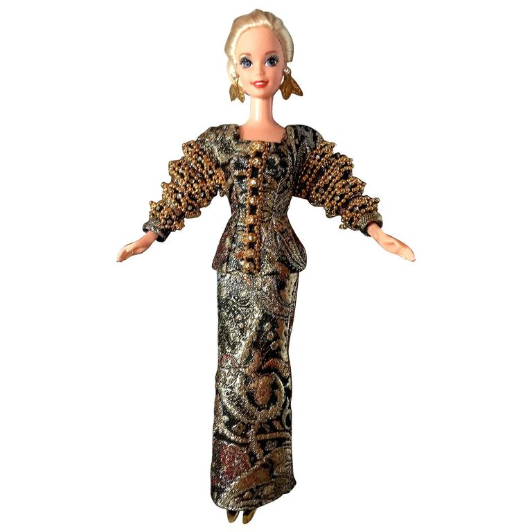 Christian Dior Haute Couture Barbie Doll by Gianfranco Ferre, 1993  For Sale