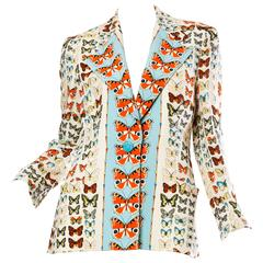 Gianni Versace Couture Butterfly Jacket