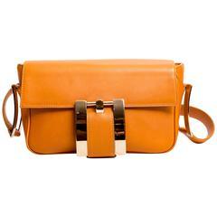 Vintage Gianni Versace Shoulder Bag with Gold Hardware
