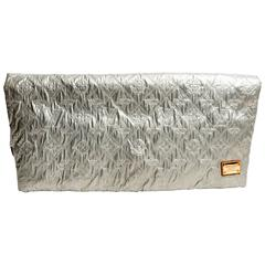Louis Vuitton Silver Limelight GM Clutch