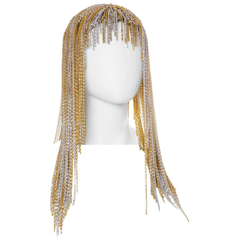 Sensual Metal Chain Wig