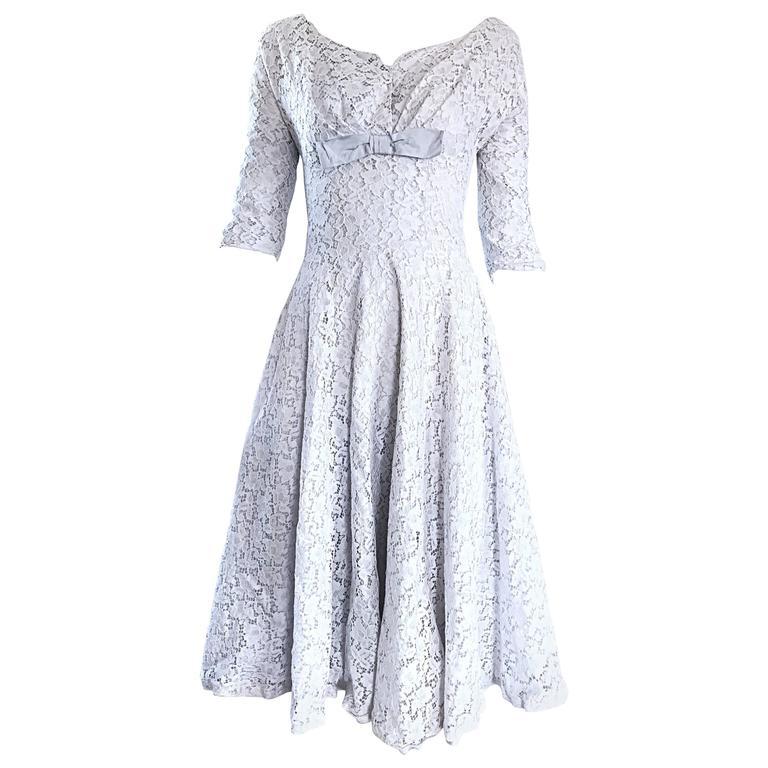 Vintage 50s Swing Dress