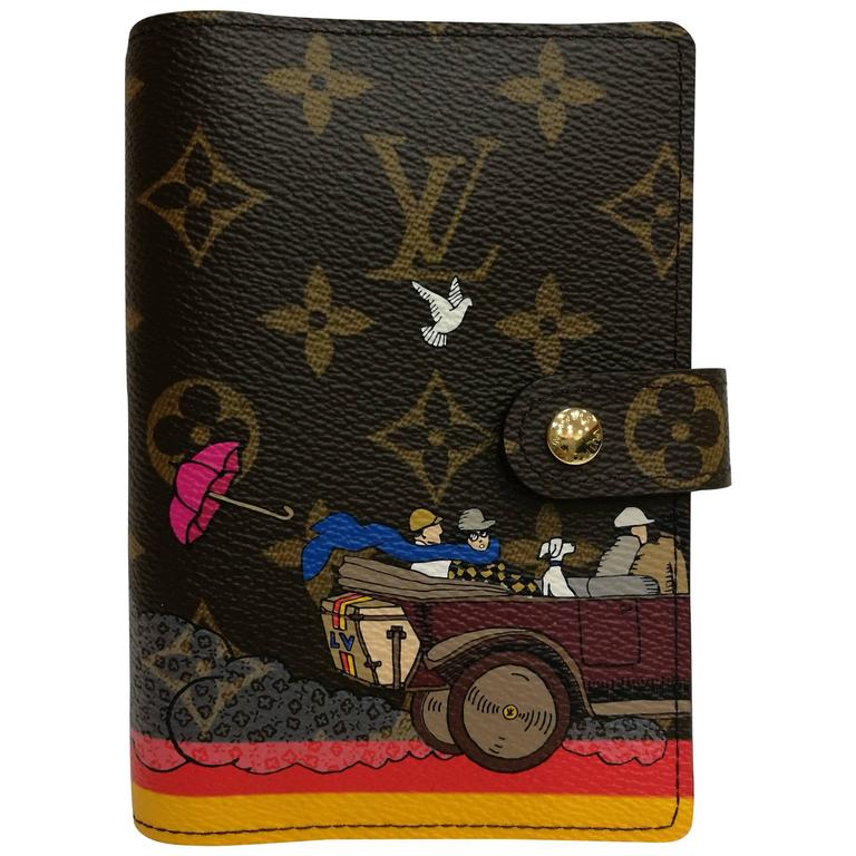 Louis Vuitton Small Ring Agenda Cover Evasion