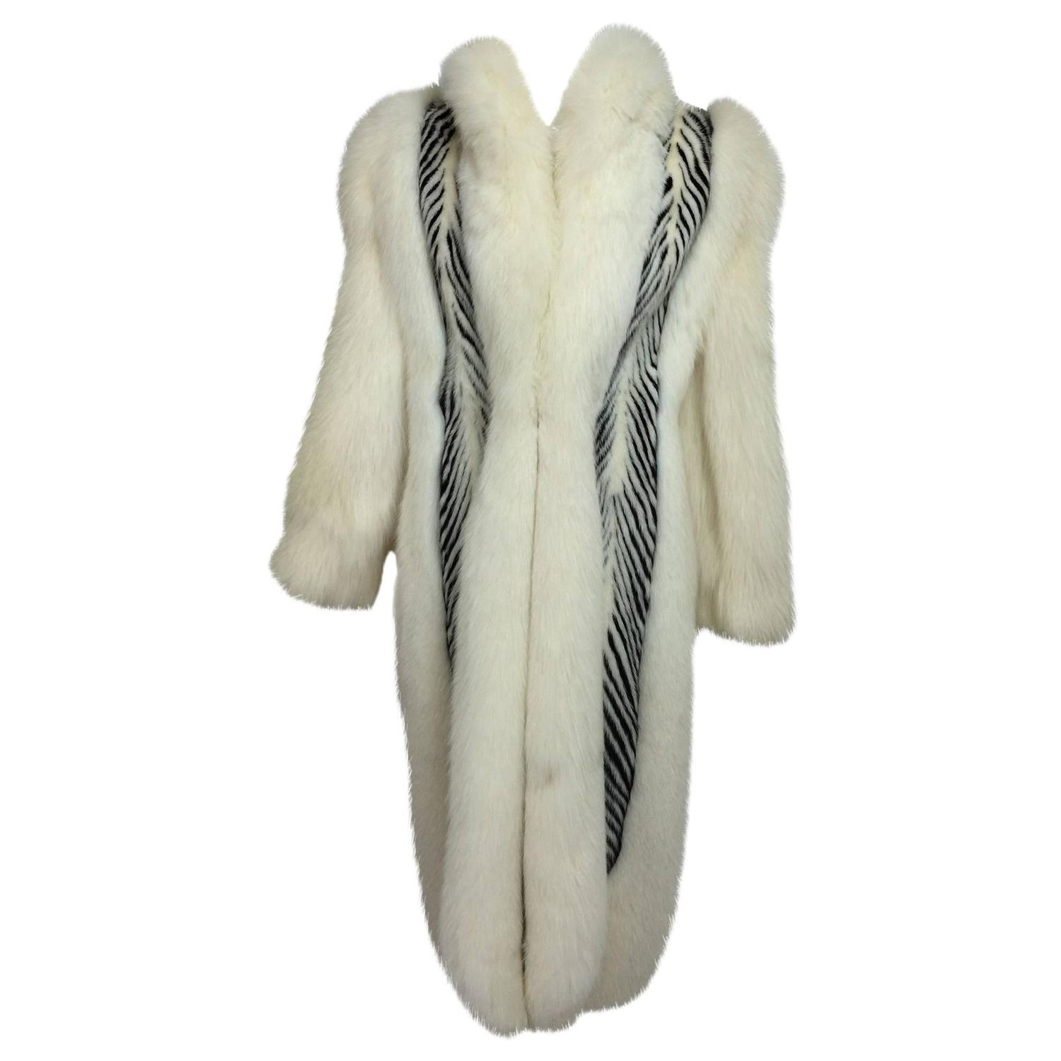 Furnitureinfashion Is Offering Very Affordable Arctic: Aladino Stefani Arctic Fox And Sheared Black And White