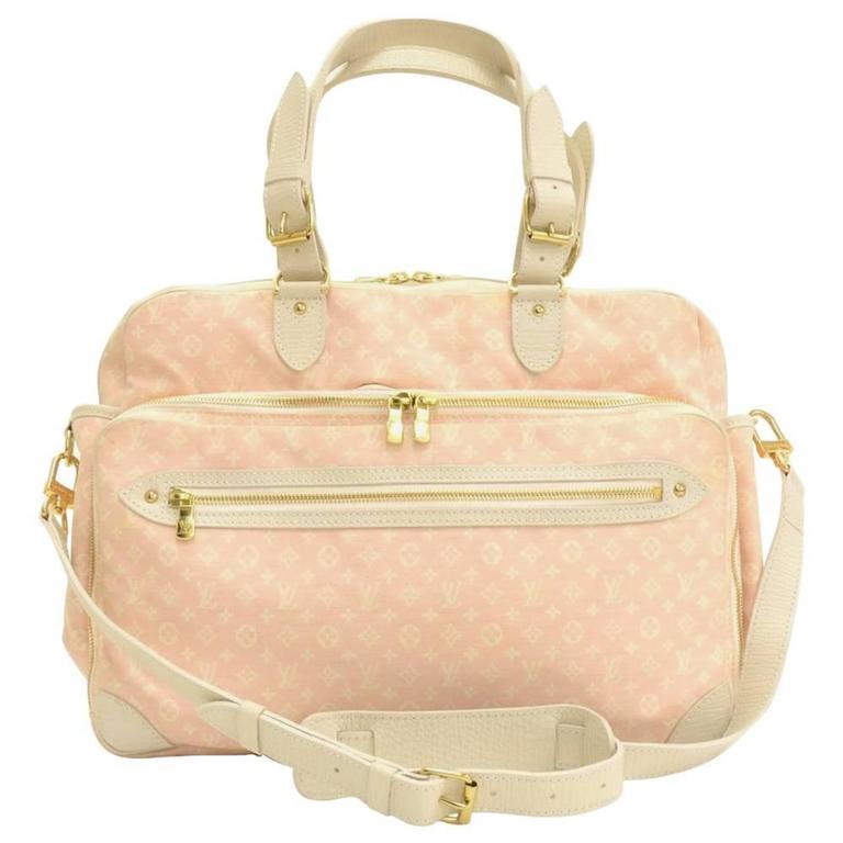 louis vuitton sac a langer baby pink mini monogram diaper shoulder bag at 1stdibs. Black Bedroom Furniture Sets. Home Design Ideas