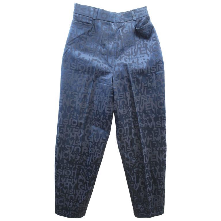 Givenchy Vision Vintage Pants Size FR 36