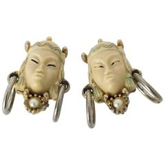 50s Selro Clip Earrings