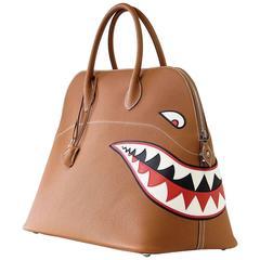 Hermes Bolide Bag Shark Monster Bolide Gold Palladium Limited Edition