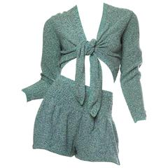 Missoni Sweater Shorts Set
