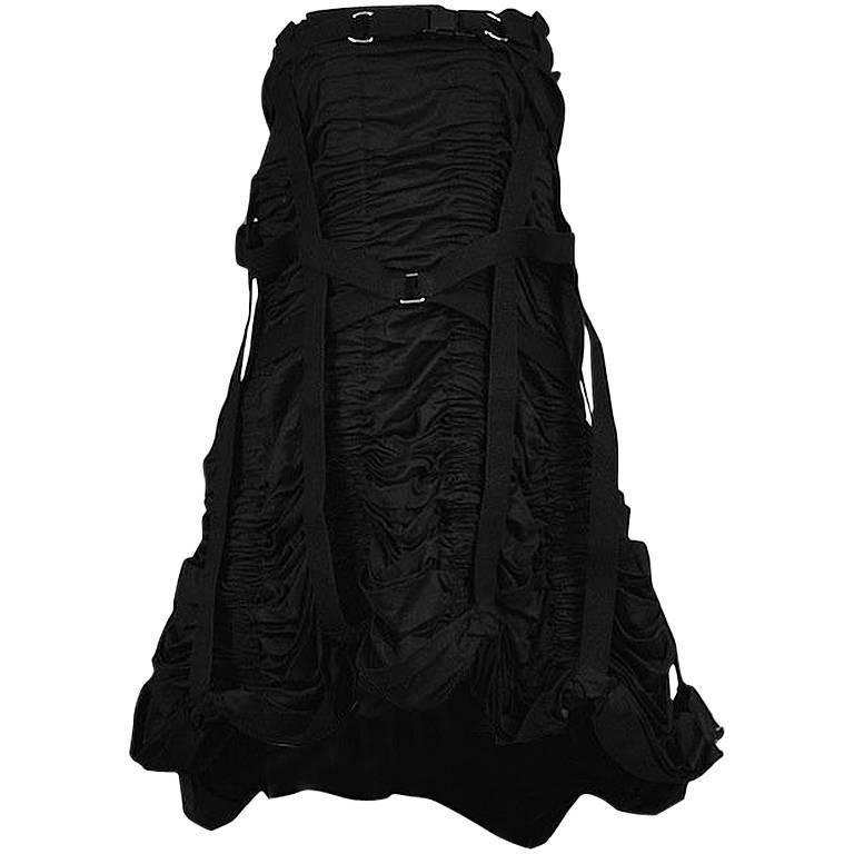 Junya Watanabe Strapless Parachute Dress 2003