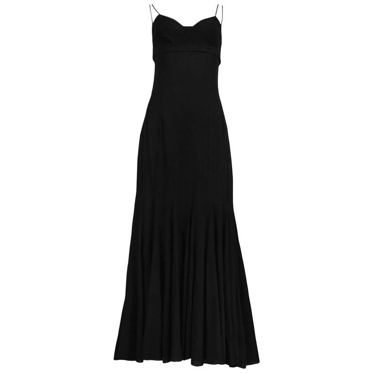 Dolce & Gabbana Slip Dress With Full Skirt