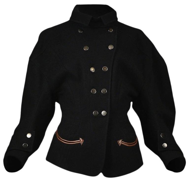 Balenciaga Iconic Wool Western Jacket