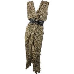 Yves Saint Laurent Two-way Silk Dress
