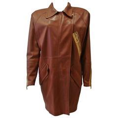 Rare Gianfranco Ferre Leather Jacket