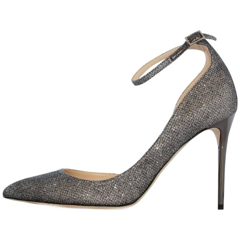 "Jimmy Choo London ""Lucy"" lamé pumps 1"