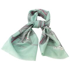 80s Christian Dior Scarf
