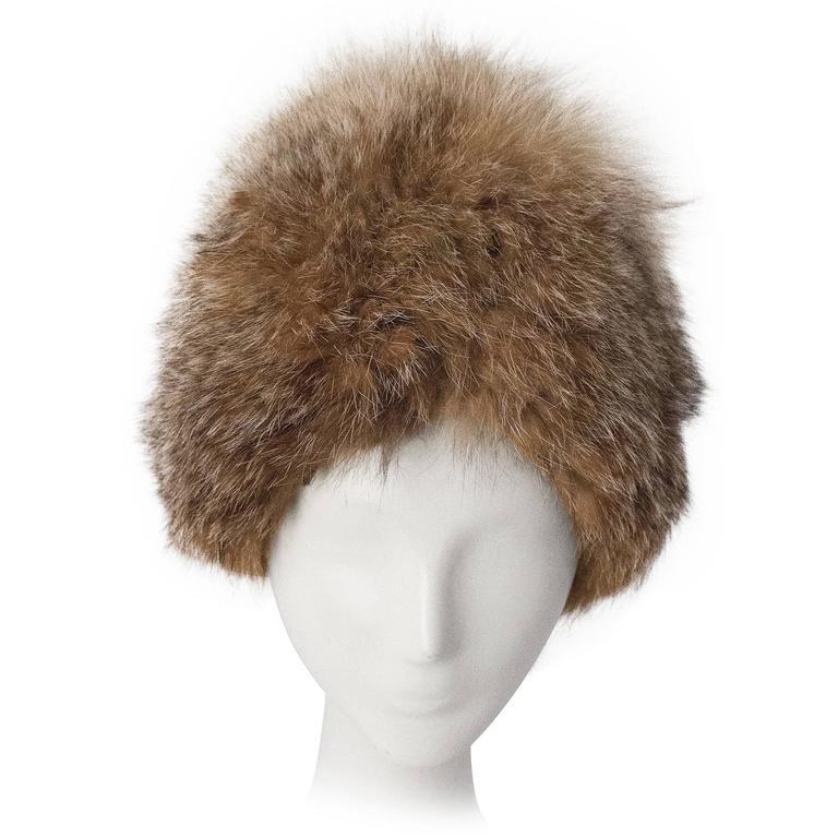 60s Fox Hat