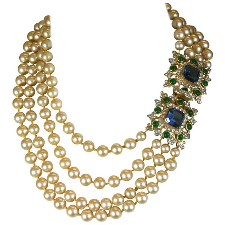 Gold-plated Choker - one size Kenneth Jay Lane 82QfOayp