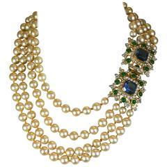 Kenneth Jay Lane Laguna Pearl Necklace