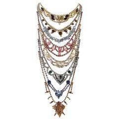 Erickson Beamon Vintage Stones Baroque Creation Necklace