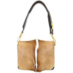 Tom Ford Antelope Fur & Brown Leather Bag rt. $3,510