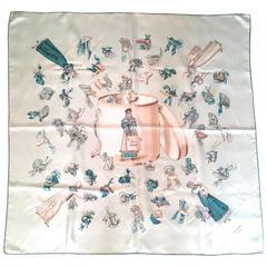 Rare Hermes Silk Scarf - Paris Modiste