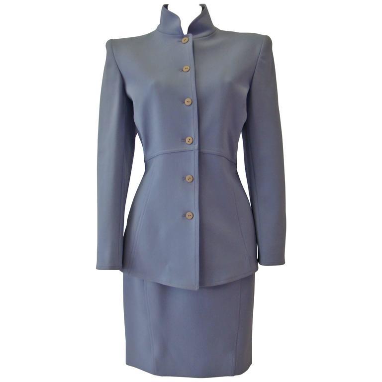 Claude Montana Lavender Skirt Suit