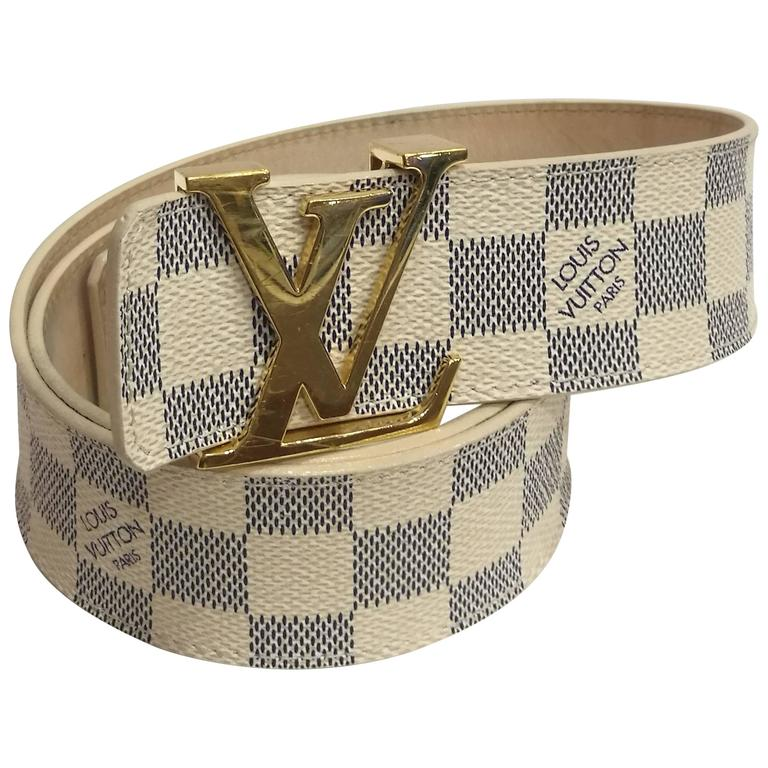 Louis Vuitton Damier Belt at 1stdibs