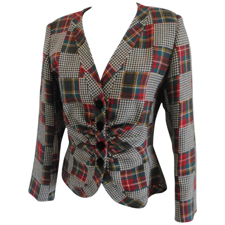 Ungaro multicolour wool jacket