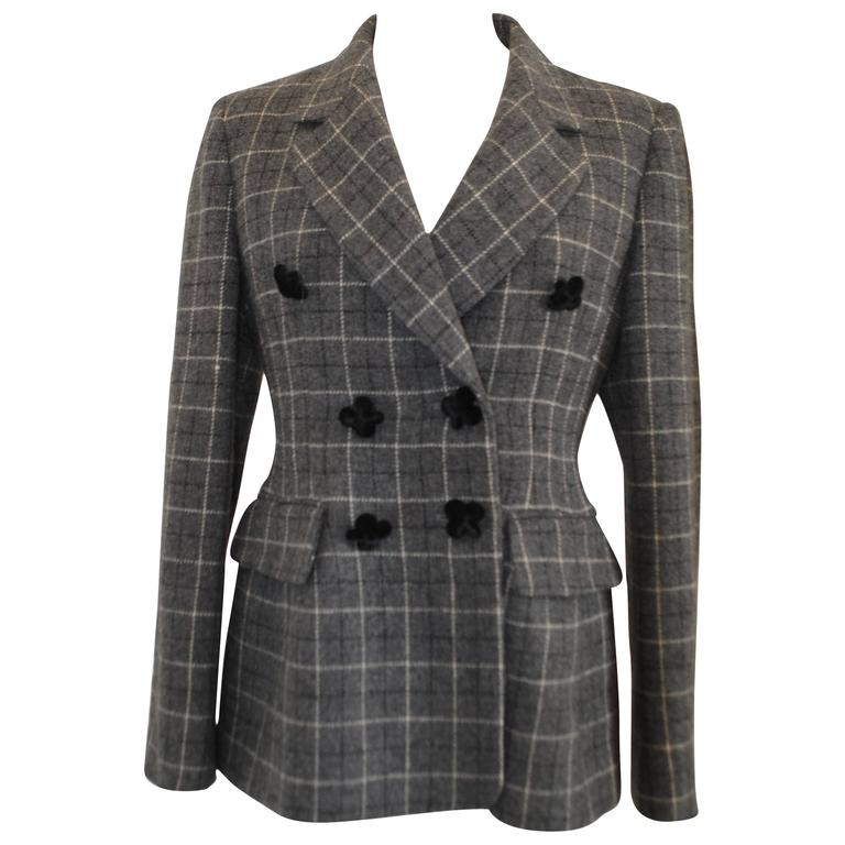 Moschino Wool Grey Jacket