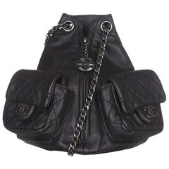 Chanel Mini Leather Backpack