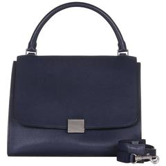Celine Navy Trapeze Bag