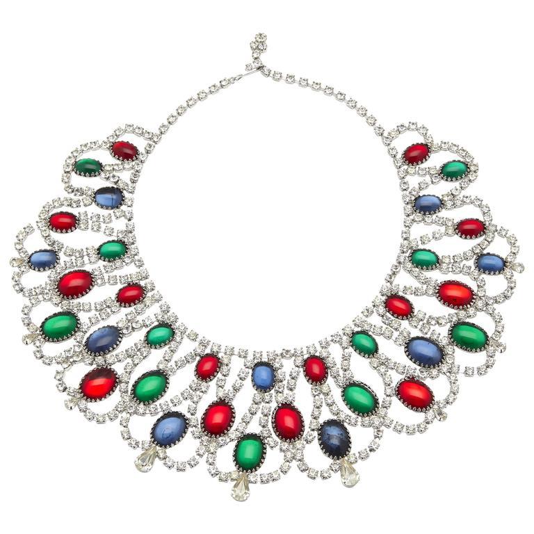 Vintage Alice Caviness Moghul Collar For Sale