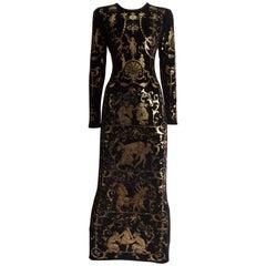 Vivienne Westwood 'Portrait Collection' Sheath Dress, Circa 1990