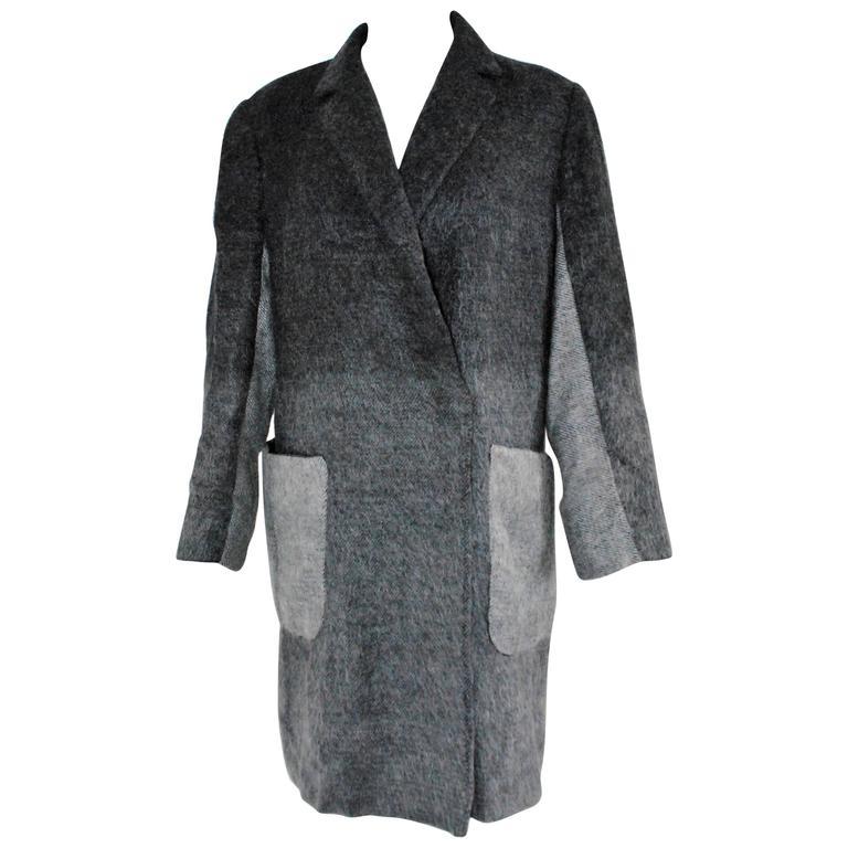 Valentino Grey Wool Jacket