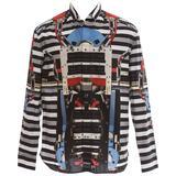 Riccardo Tisci for Givenchy Runway Men's Cotton Print Shirt, Spring 2014