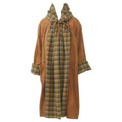 Bonnie Cashin Pumpkin Suede Coat