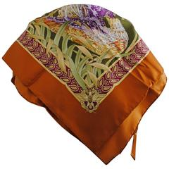 Salvatore Ferragamo Multicolour silk foulard