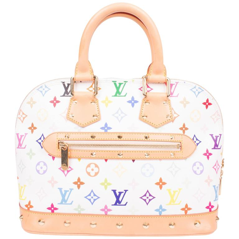 b52090d3673 Louis Vuitton Alma PM Monogram Multicolore Rainbow Canvas