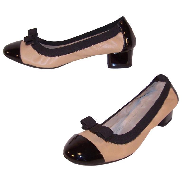 New In Box Ferragamo 'My Paris' Ballerina Shoes Size 8