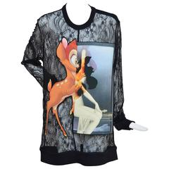 Givenchy Bambi Lace Shirt Sold Out And Seen On The Best Dressed   M