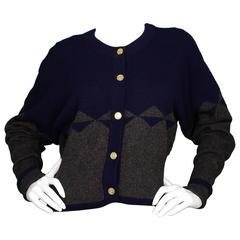 Chanel grey cardigan sweater with tweed trim for sale at for I see both sides like chanel shirt
