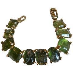 Gorgeous Goossens Paris Tinted Rock Crystal Bracelet